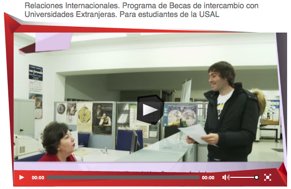 Video Becas intercambio